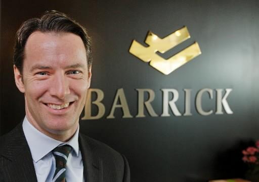 Aaron Regent, PDG de Barrick Gold... (Bloomberg)