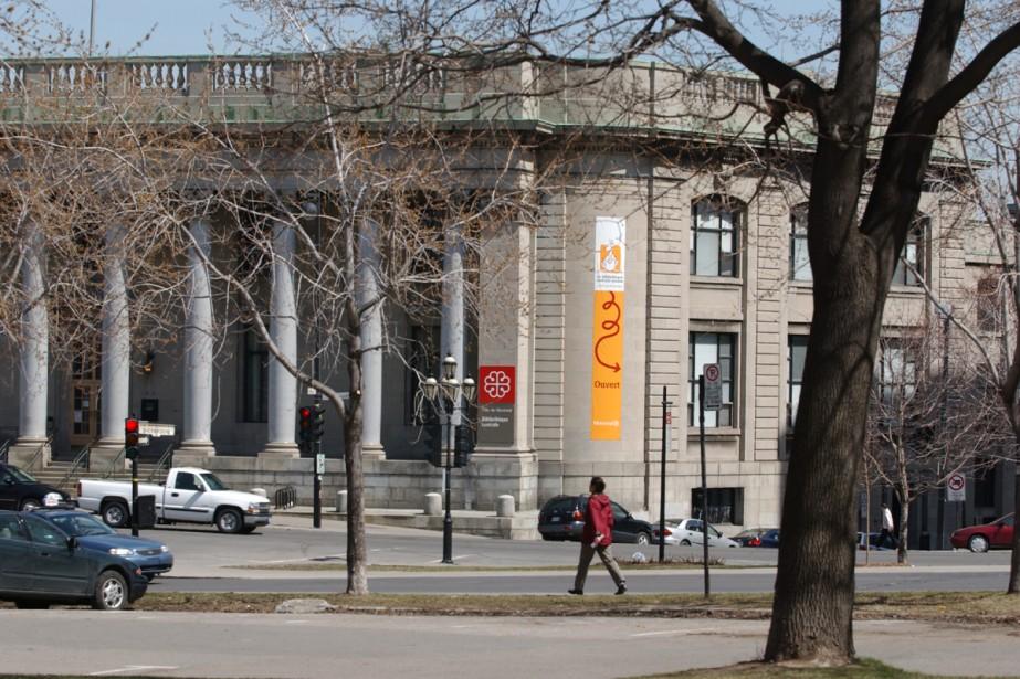 Après un changement de vocation, l'ancienne Bibliothèque... (Archives La Presse)