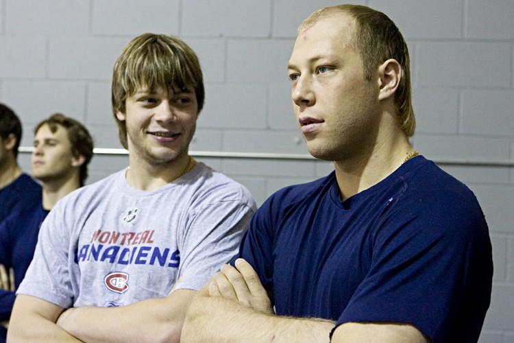 Sergei et  Andrei  Kostitsyn... (Photo: François Roy, La Presse)