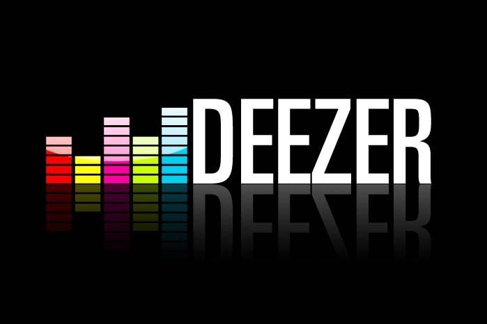 Le logo de Deezer...
