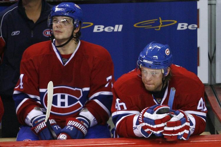 Sergei et Andrei Kostitsyn... (Photo: David Boily, La Presse)