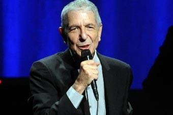 Leonard Cohen a donné jeudi son premier concert... (Photo AP)