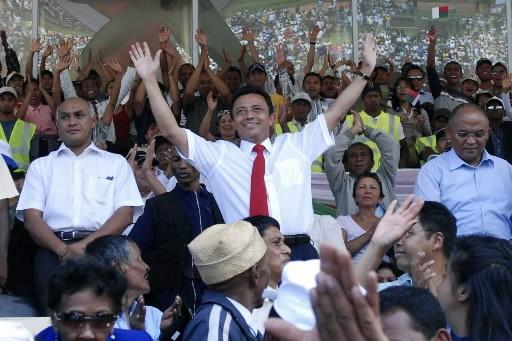 Le président malgache Marc Ravalomanana.... (Photo: Reuters)