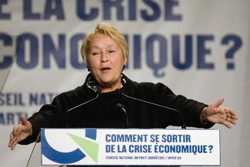 Pauline Marois... (Photo: PC)