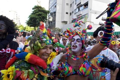 Des dizaines de milliers de Cariocas et de touristes... (Photo: AFP)