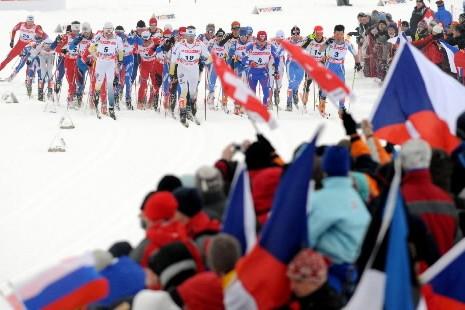 Le Norvégien Petter Northug a remporté le titre de champion du... (Photo: AFP)