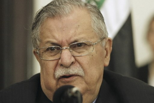 Le président irakien, Jalal Talabani.... (Photo: Reuters)