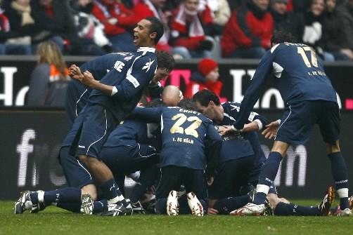 Les joueurs de Cologne ont imposé une défaite... (Photo: Reuters)