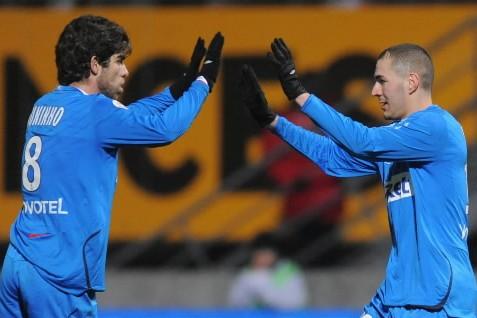 Les joueurs de Lyons.... (Photo: AP)