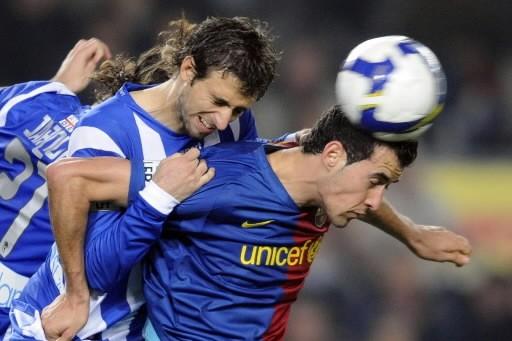 Barcelona a battu l'Espnyol 2 à 1.... (Photo: AP)