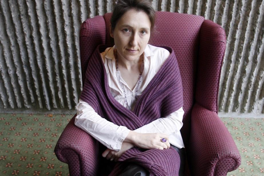 Marie Darrieussecq... (Photo: François Roy, La Presse)