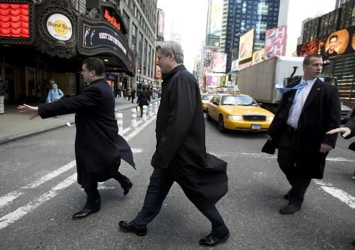 Stephen Harper est en visite à New York... (Photo: La Presse Canadienne)