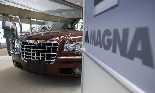 L'action de Magna International ( (Photo: La Presse Canadienne)