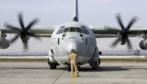 Un C-130 de Lockheed Martin... (Photo: Reuters)