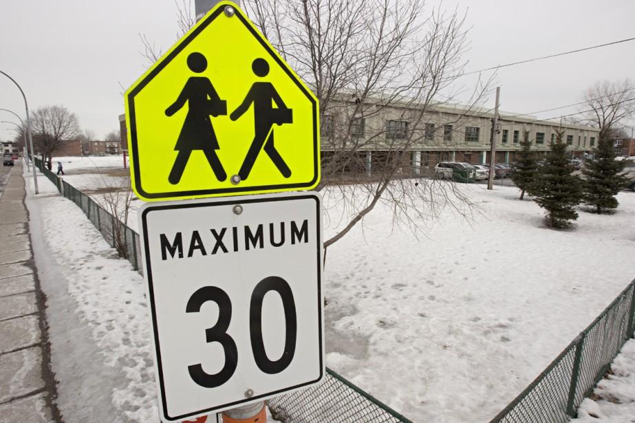 L'école Samuel de Champlain, de Longueuil, fermera ses... (Photo: David Boily, La Presse)