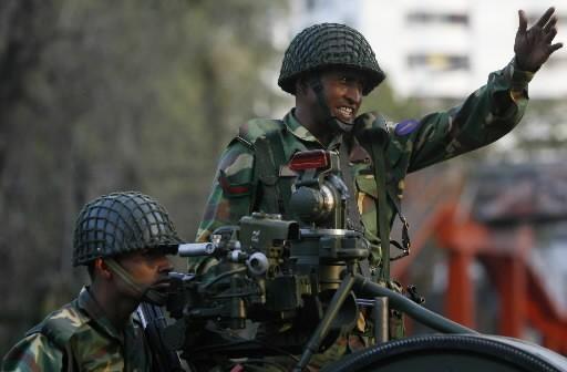Un soldat du Bangladesh... (Photo: Reuters)