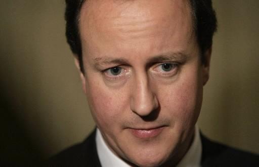 David Cameron... (Photo: AFP)
