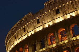 L'effondrement de la Maison des gladiateurs, dans le... (Photothèque La Presse)