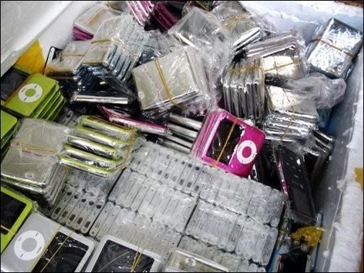 Téléphones portables, baladeurs MP3, logiciels : les produits... (Photo: AFP)