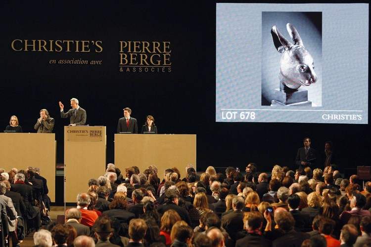 La vente historique de la collection privée d'Yves... (Photo: Reuters)