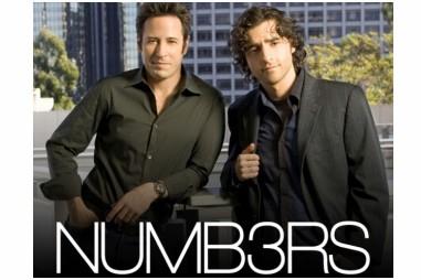 La série américaine Numb3rs, où un génie des... (Photo: CBS)
