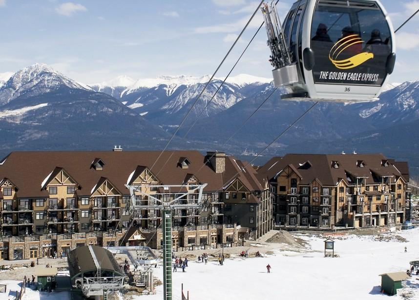 Une vue du centre de ski Kicking Horse... (Collaboration)