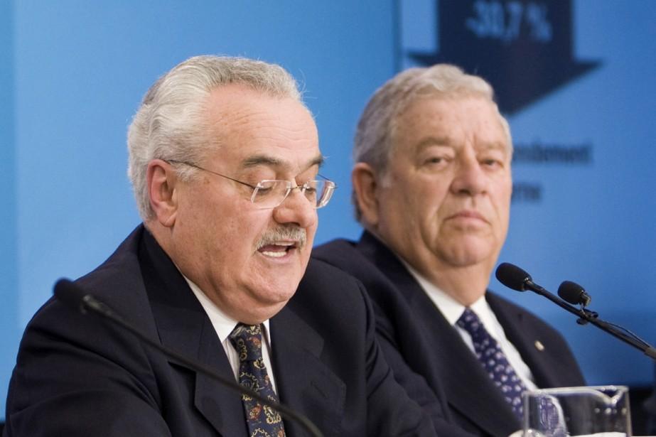 Fernand Perreault, président intérimaire de la Caisse de... (Photo La Presse Canadienne)