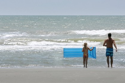 Basta, les vacances à gros prix, sur les plages... (Photo: Bloomberg News)