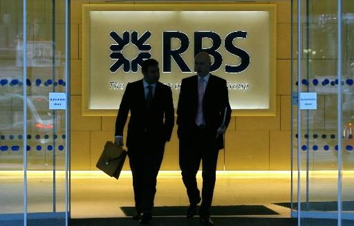 Le groupe bancaire Royal Bank of Scotland ( (Photo: Agence France-Presse)