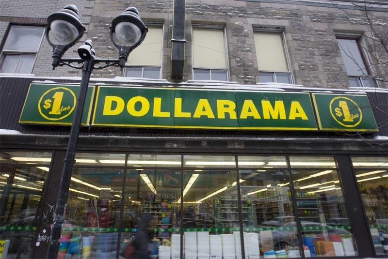 Dollarama, le plus important exploitant de magasins à prix réduits... (La Presse)