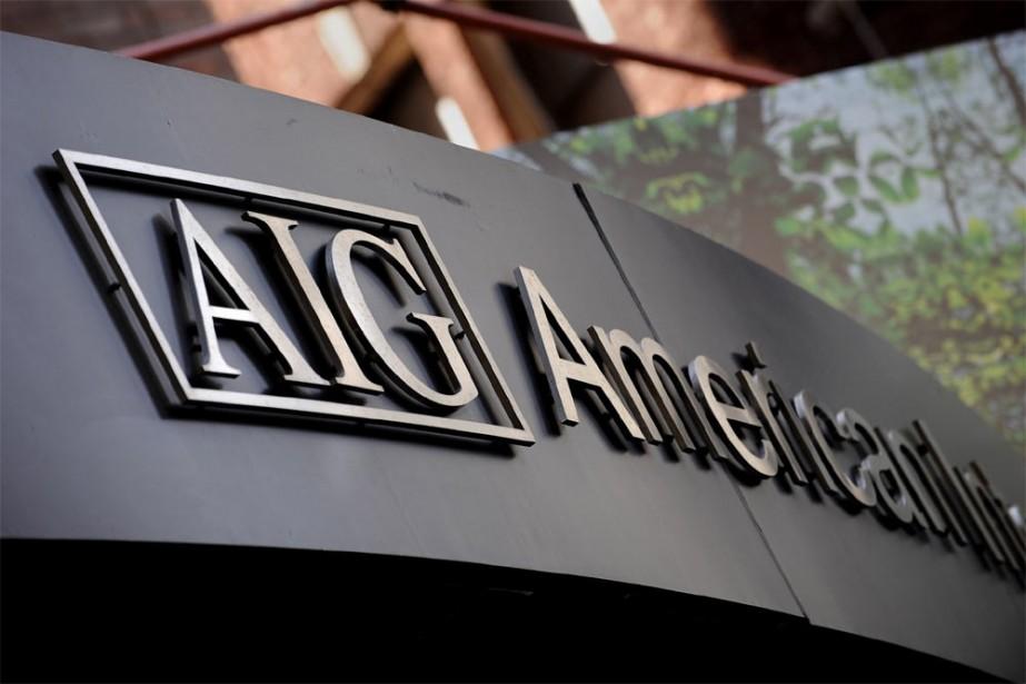L'assureur américain AIG a annoncé mercredi... (Photo: Agence France-Presse)