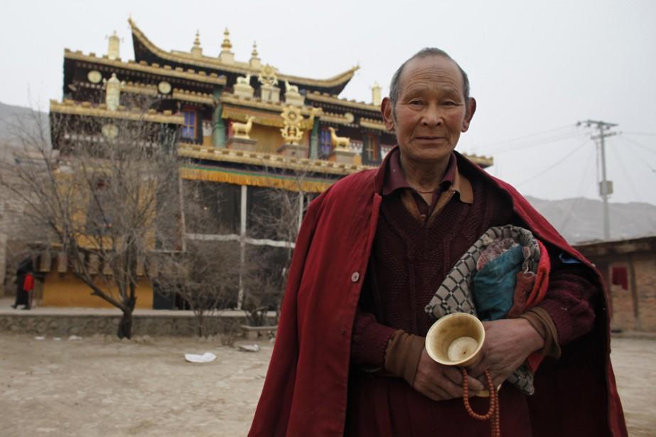 La Chine a démenti jeudi vouloir fermer le Tibet aux touristes... (Photo: AP)