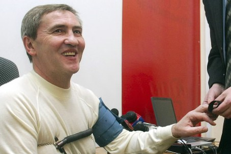 Leonid Chernovetsky... (Photo: AFP)