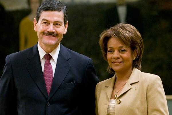 Le nouvel ambassadeur mexicain au Canada, Francisco Barrio... (La Presse Canadienne)