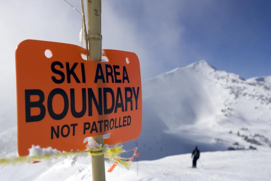Outre les signes S.O.S. dans la neige, rien ne laissait croire que... (Photo PC)