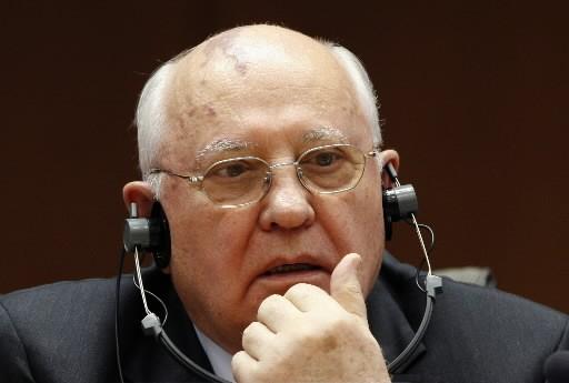 Mikhaïl Gorbatchev... (Photo: Reuters)