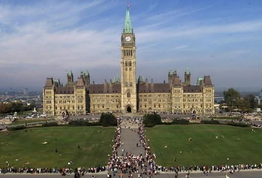 Le gouvernement fédéral a affiché un surplus budgétaire de 1,5 milliard $... (CP)