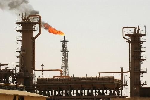 Une raffinerie de pétrole en Irak.... (Photo: AFP)