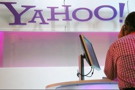 Yahoo! a annoncé jeudi de nouveaux partenariats avec des... (Photo: AFP)