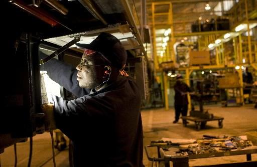 La baisse du produit intérieur brut des États-Unis a... (Photo: Bloomberg)