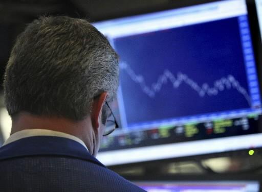 Les Bourses nord-américaines étaient en nette baisse jeudi en... (Photo: Reuters)
