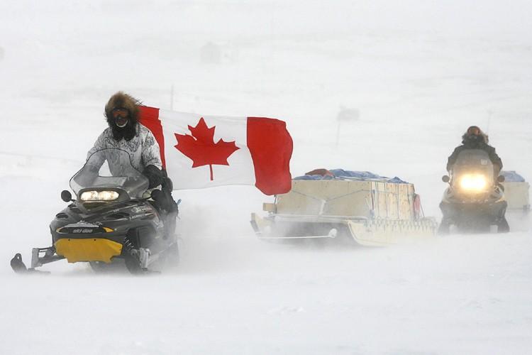 Des agents canadiens mènent régulièrement des «patrouilles de... (Photo: PC)