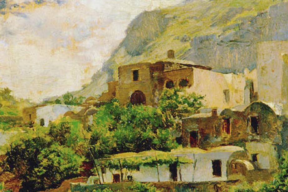 La toile de Francisco Pradilla Ortiz, Paysage de... (Photo: Musée Del Prado)