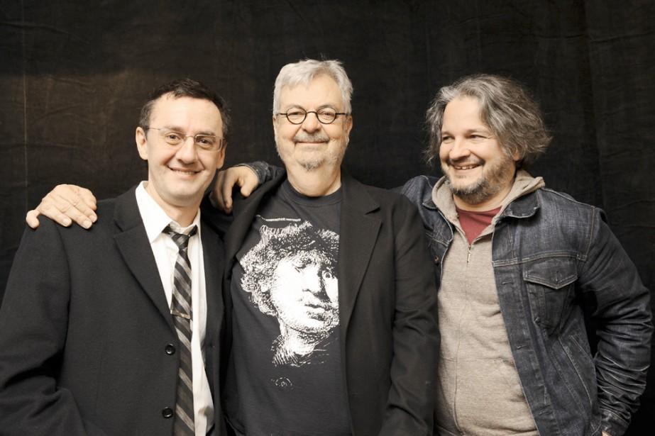 René Richard Cyr et Daniel Bélanger ont adapté... (Photo: Valérie Remise)