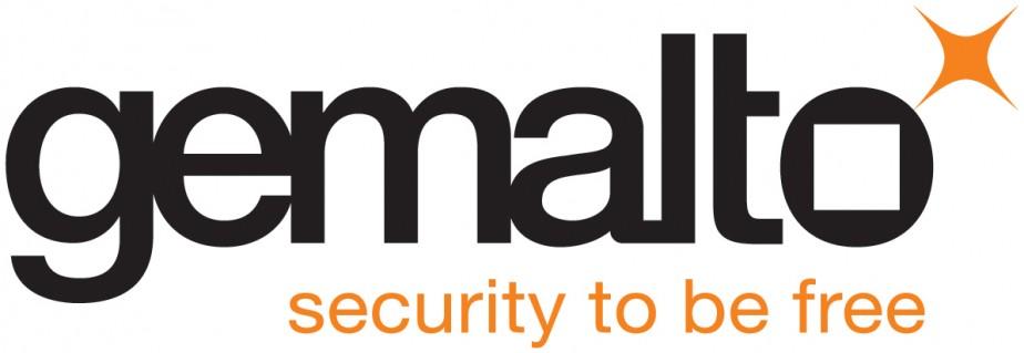 Le logo de Gemalto...