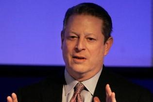 L'ancien vice-président américain Al Gore... (Photo: AP)
