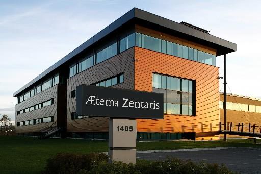 Dans le pire des cas, AEterna reçoit un...
