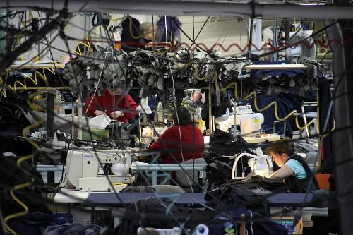 L'usine Confection 2001, à Farnham.... (Photo: Alain Dion, La Voix de l'Est)