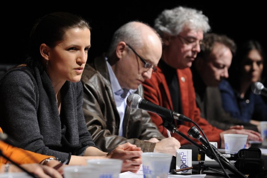 Plusieurs voix se sont unies hier pour demander... (Photo: Bernard Brault, La Presse)