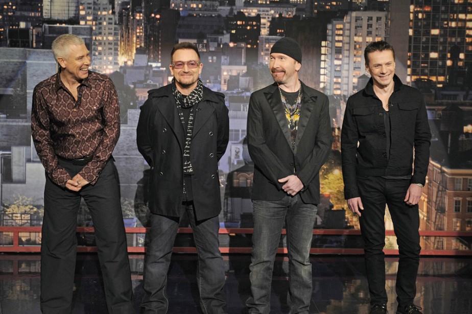 Adam Clayton, Bono, The Edge et Larry Mullen... (Photo: AP)